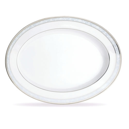 Hampshire Platinum Oval Platter