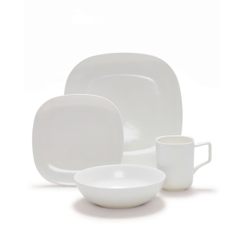 SHADE Dinner Set 16pc White