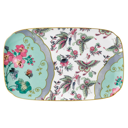 Butterfly Bloom Sandwich Tray 25cm