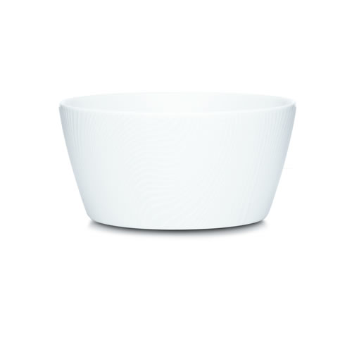 White on White Dune Cereal Plate