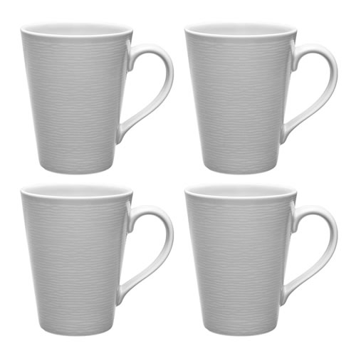 Grey on Grey Swirl Mugs