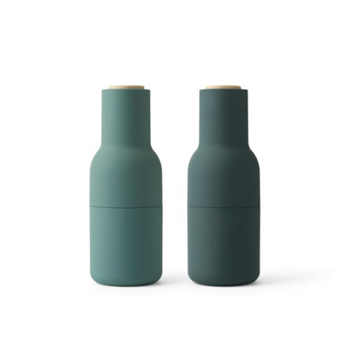 Bottle Grinder Set in Dark Green