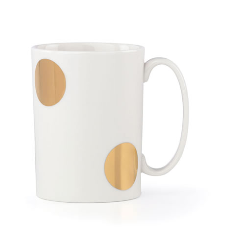 kate spade new york Everdone Lane Large Dot Mug