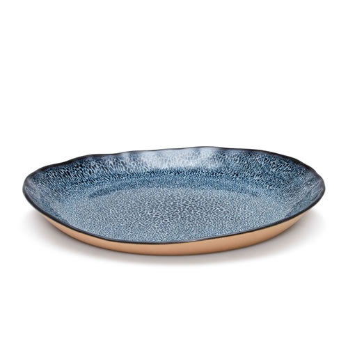 NOMAD Side Plate Blue Set