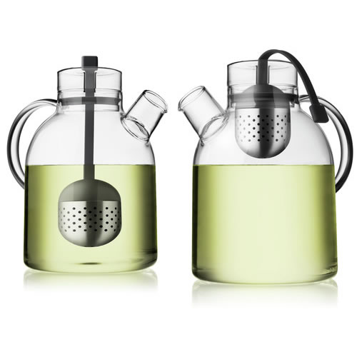 Kettle Glass Tea Pot with Tea Egg 1.5L