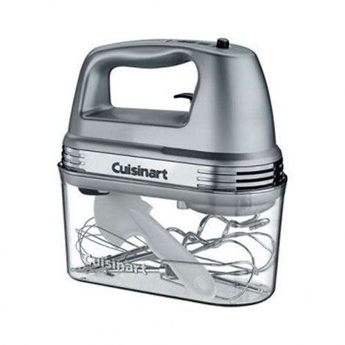 Cuisinart 9 Speed Hand Mixer with Storage Case in Silver