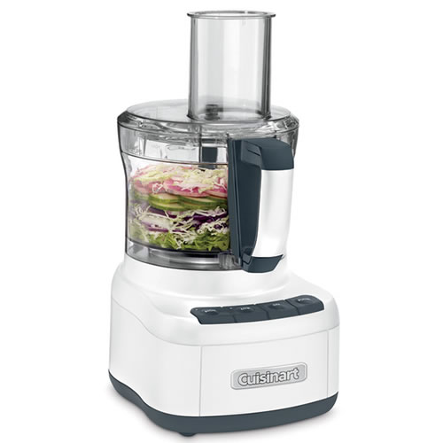 8 Cup Food Processor White