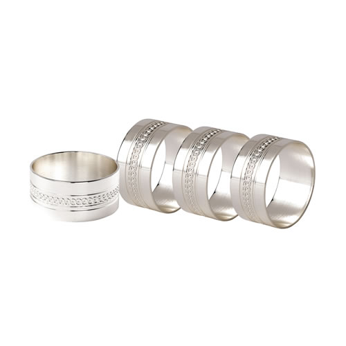 Simply Wish Napkin Rings Set