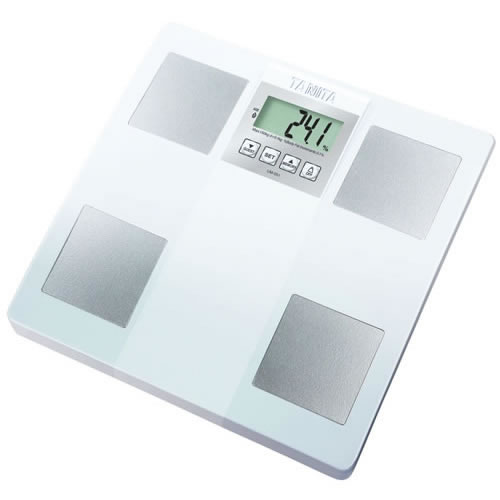 Tanita White InnerScan Bathroom Scales UM051