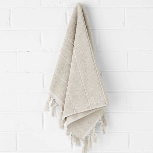 Paros Hand Towel in Natural