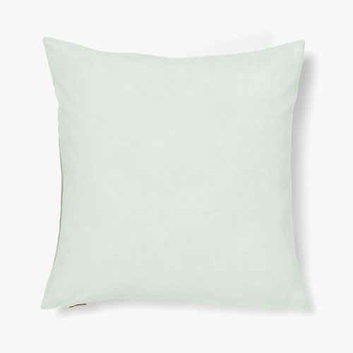Luxury Velvet Cushion in Pastel Mint