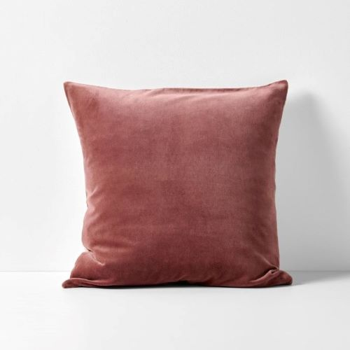 Velvet Luxury Cushion in Mahogany