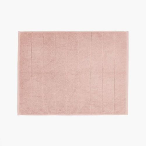 Paros Bath Mat in Pink Clay