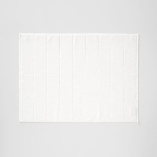 Paros Bath Mat in White Wash