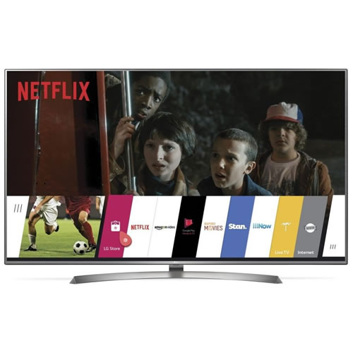 LG 55 4K Ultra HD LCD Smart TV Silver