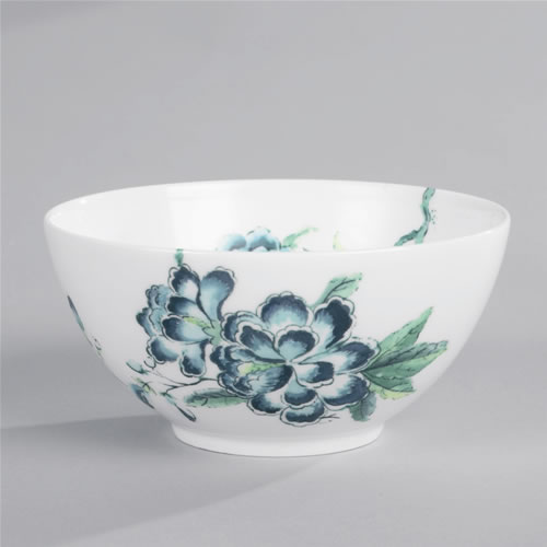 Jasper Conran Chinoiserie Bowl 14cm in White