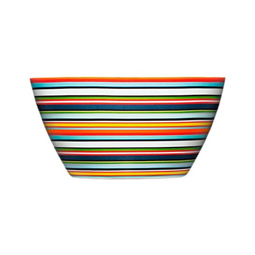 Origo Bowl 0.5L 14x7cm in Orange