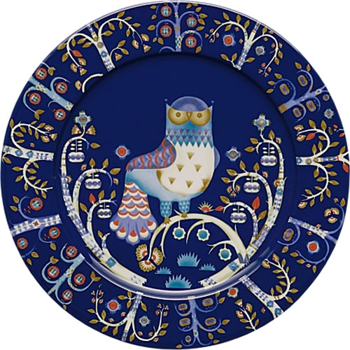 Taika Large Dinner or Charger Plate 30cm in Blue