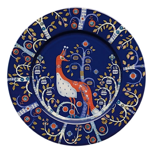 Taika Entree Plate 22cm in Blue