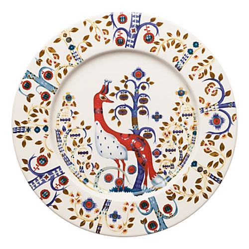 Taika Entree Plate 22cm in White