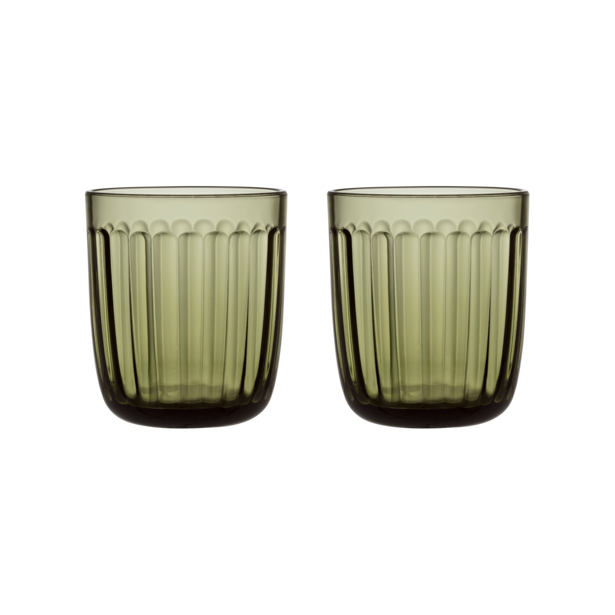 Raami Moss Green Tumbler Set of Two