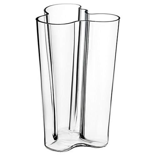 Alvar Aalto Finlandia Vase 251mm in Clear