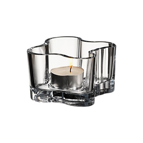 Alvar Aalto Votive in Clear 55mm