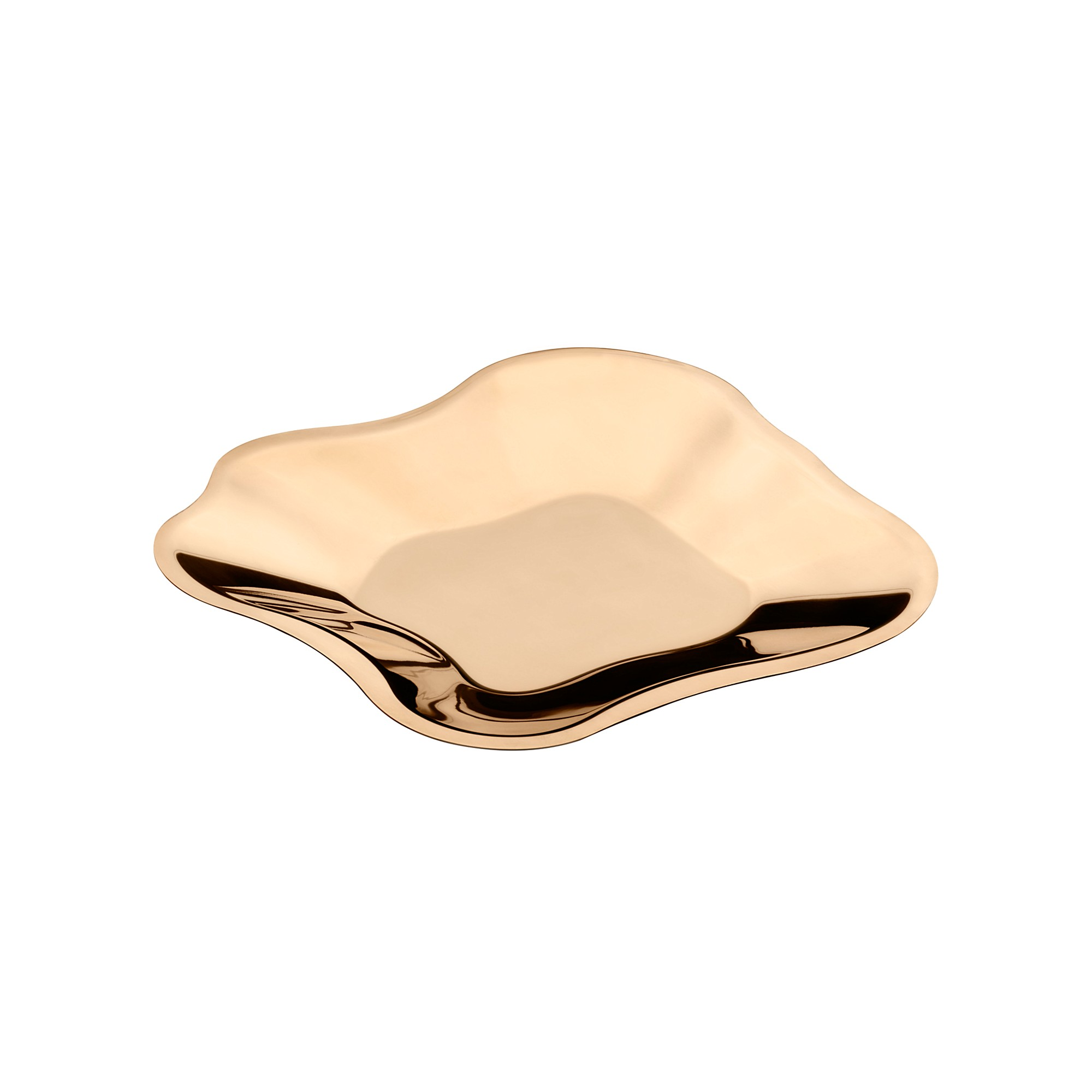 Aalto Metal Bowl Rose Gold