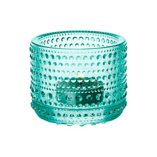 Kastehelmi Votive 64 mm in Water Green