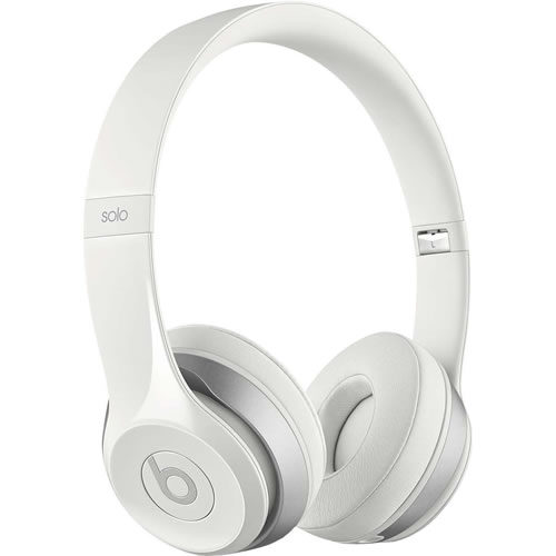 Beats Solo 2 On-Ear Headphones in White