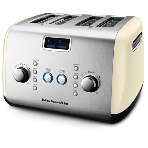 KMT423 4 Slice Toaster in Almond Cream