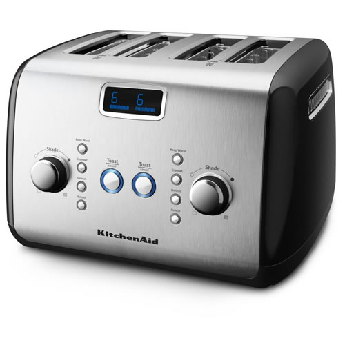 KitchenAid Artisan 4 Slice Toaster Onyx Black