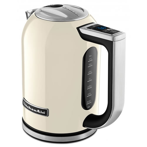 KitchenAid Artisan KEK1722 Electric Kettle in Almond Cream