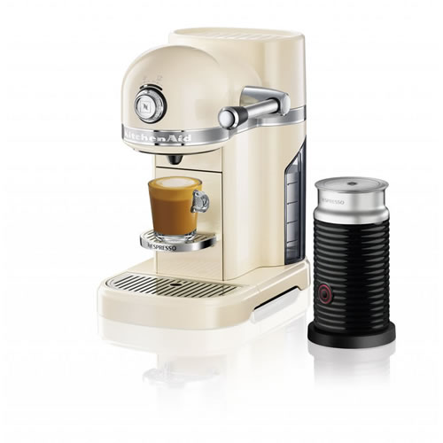 KES0504 Nespresso Machine in Almond Cream