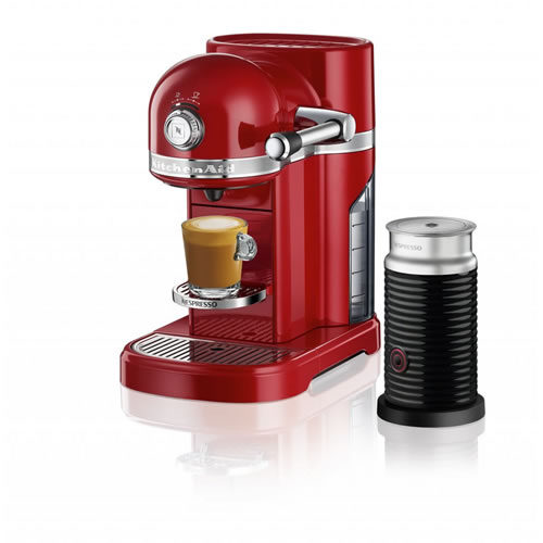 KES0504 Nespresso Machine in Empire Red