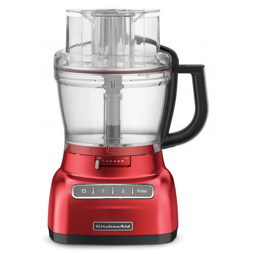 Artisan KFP1333 ExactSlice Food Processor in Empire Red