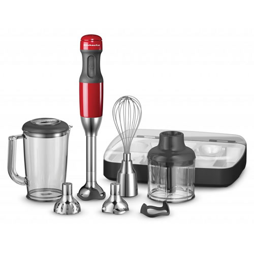 Kitchenaid KHB2569 Hand Blender in Empire Red