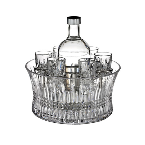 Lismore Diamond Vodka Set of 6 Shot Glasses
