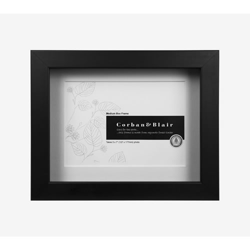 Box Frame 5x7 in Black