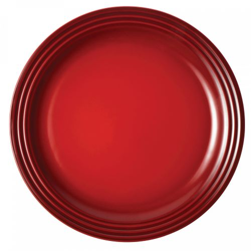 Stoneware Dinner Plate 27cm in Cerise