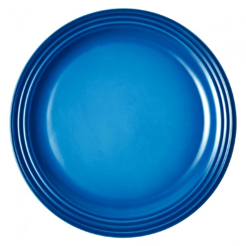 Stoneware Dinner Plate 27cm in Marseille Blue