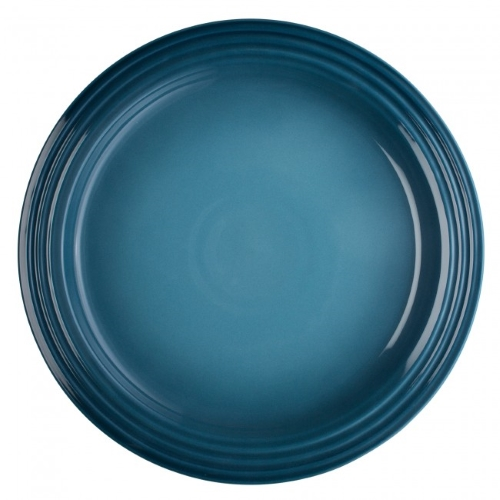Stoneware Dinner Plate 27cm in Marine