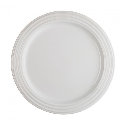 Stoneware Side Plate 22cm in White