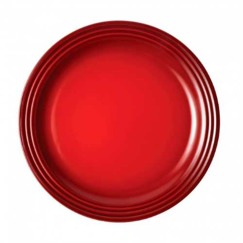 Stoneware Side Plate 22cm in Cerise