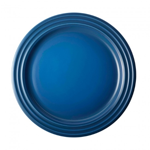 Stoneware Side Plate 22cm in Marseille Blue