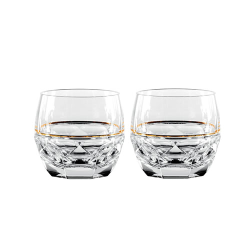Elysian Rock Glass Pair