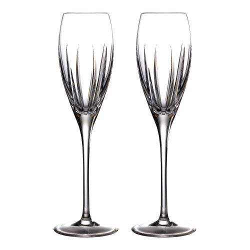 Waterford Crystal Ardan Tonn Flute Pair