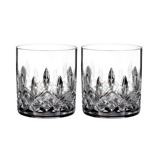 Lismore Waterford Crystal Straight Tumbler Pair