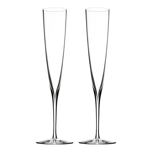 Elegance Champagne Trumpet Flute Pair 170ml