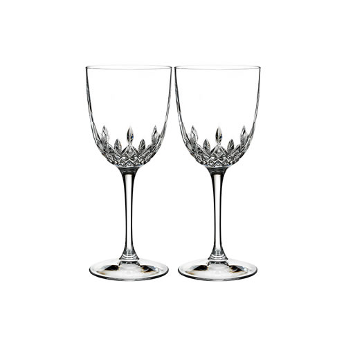 Waterford Crystal Lismore Encore Goblet Pair